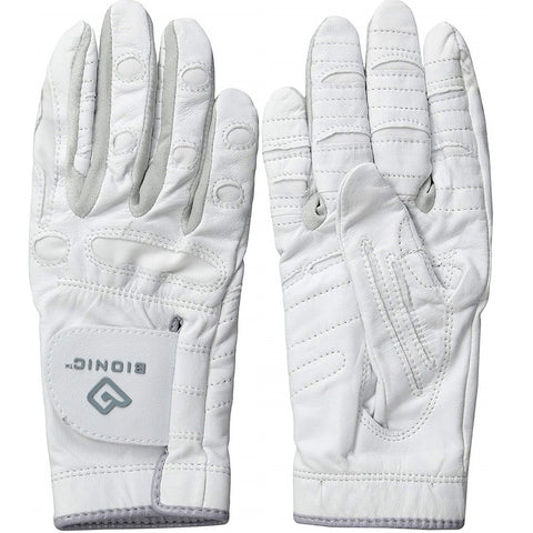Bionic Golf Women's PerformanceGrip Glove - White