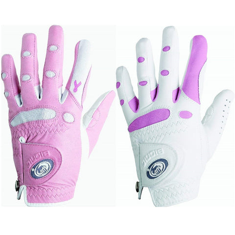Bionic Golf Women's StableGrip Glove - Pink White (Closeout)