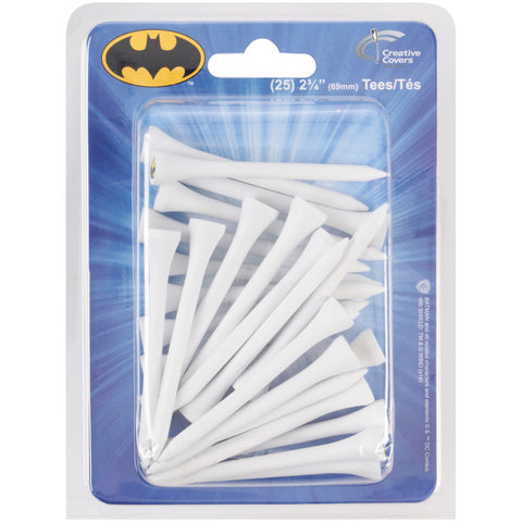 Creative Covers DC Comic Heroes Golf Tees 25 pc