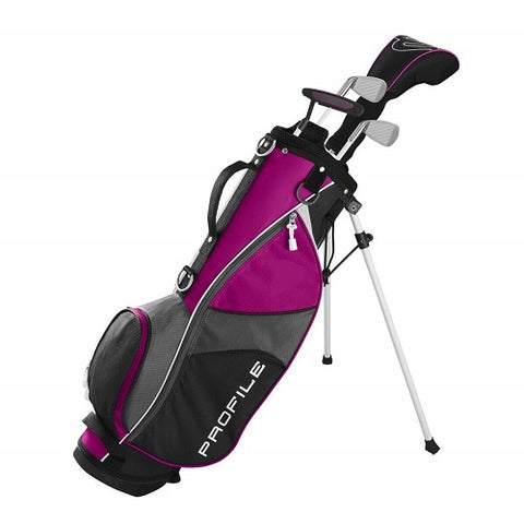 Wilson Profile JGI Junior Small Complete Golf Club Set - Pink