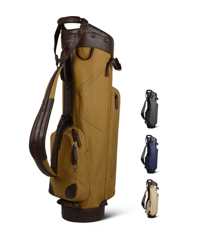 Sun Mountain Golf Canvas & Leather Cart Bag