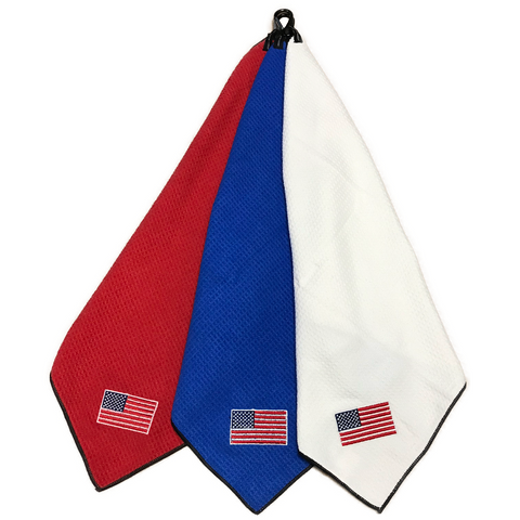 "Joseph Elliott USA Embroidered Flag 18"" x 18"" Micro Fiber Towels"