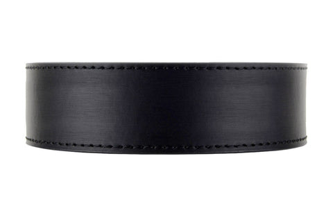 NexBelt Brushed Stainless PreciseFit Leather Strap Belt