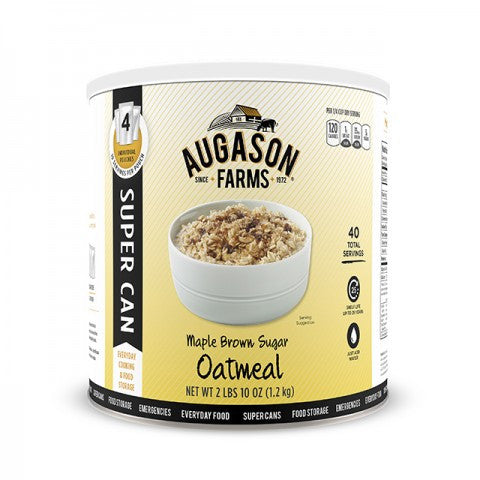 Grain -Maple Brown Sugar Oatmeal Super Can Gluten Free
