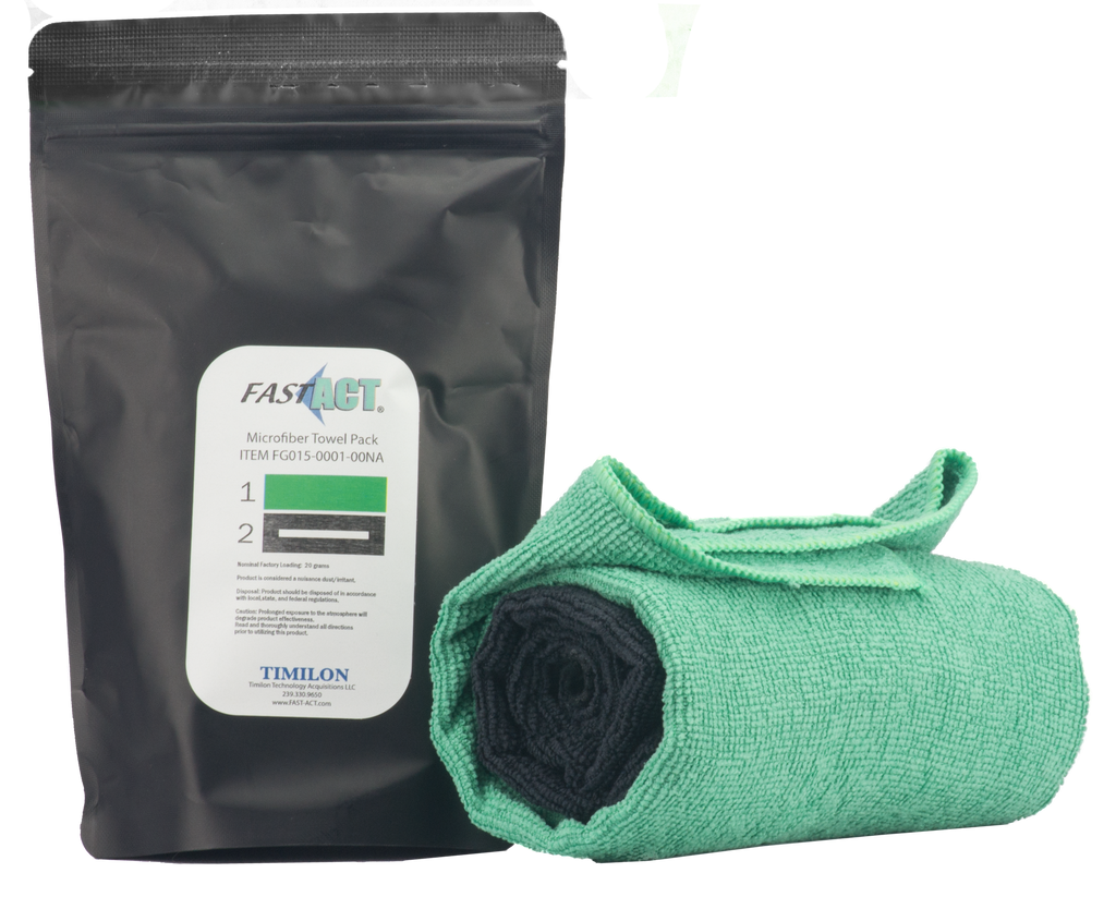 FAST-ACT® Microfiber Towel Pack