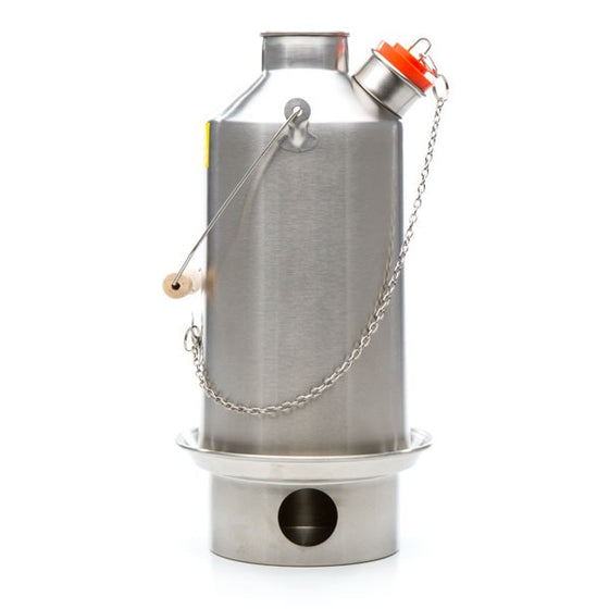 Kelly Kettle® Stainless Steel Base Camp-Large
