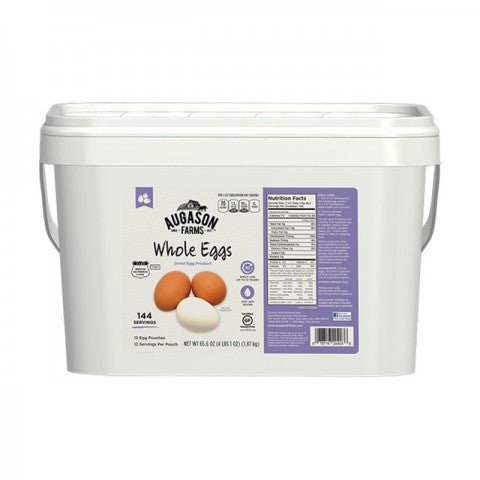 Eggs & Dairy  Dried Whole Eggs Pail (approx. 144 eggs)