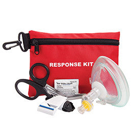 Curaplex CPR Response Kit, In Pouch