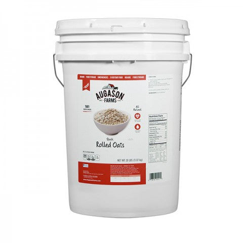 Grains - Quick Rolled Oats 20lb Pail