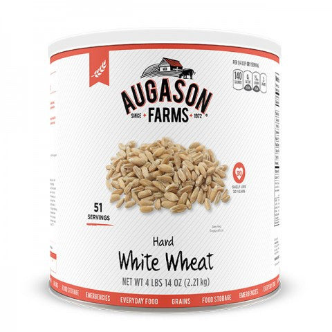 Grains - Hard White Wheat #10 Can 4lb 14 oz