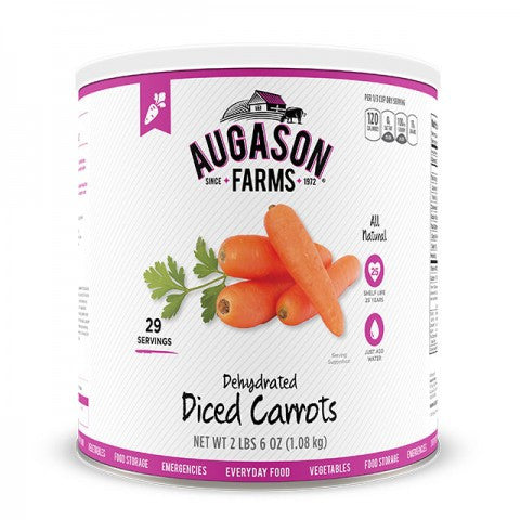 Vegatables - Dehydrated Diced Carrots #10 Can