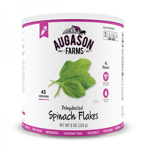 Vegatables- Dehydrated Spinach Flakes #10 Can