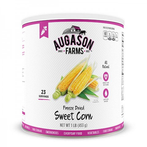 Vegatables - Freeze Dried Sweet Corn #10 can