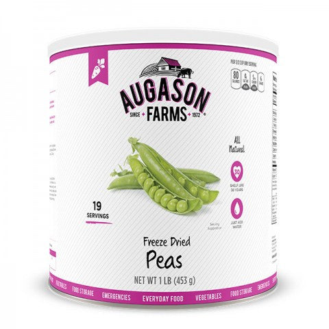 Vegatables - Freeze Dried Peas #10 Can
