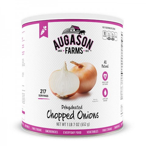 Vegatables - Dehydrated Chopped Onions #10 Cans