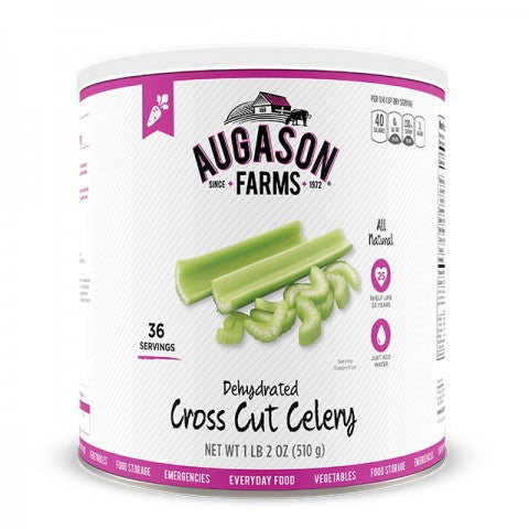 Vegatables - Dehydrated Cross Cut Celery #10 can