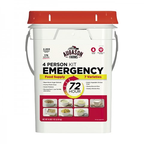 . Augason 72 Hour 4-Person Emergency Food Supply Kit