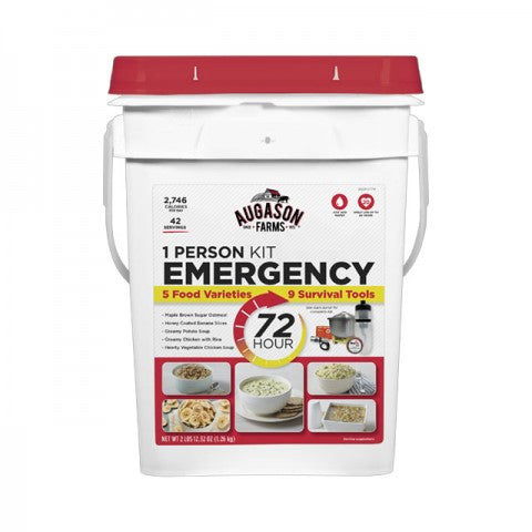 Augason 72 Hour 1-Person Emergency Food Kit