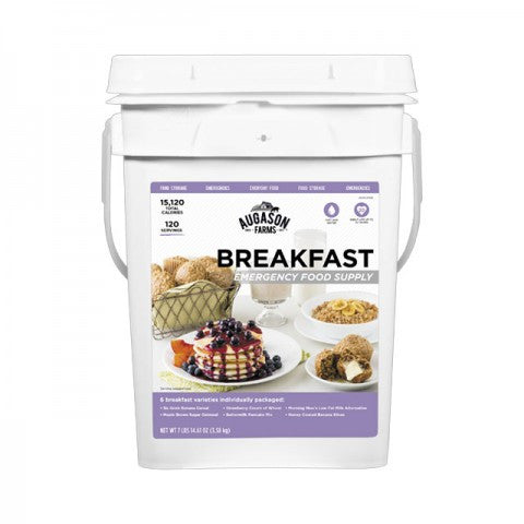 Augason Emergency Food Supply Breakfast Pail