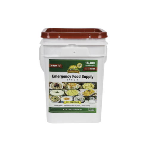 Augason Emergency Food Supply Variety Pail 4 Gallon Pail