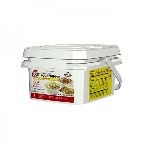 .Augason 72-Hour 1-Person Emergency Food Pail