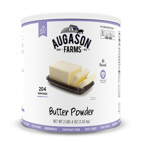 Eggs & Dairy Butter Powder 36oz Can