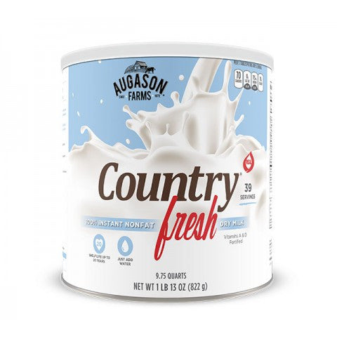 Eggs & Dairy Country Fresh 100% Real Instant Nonfat Dry Milk