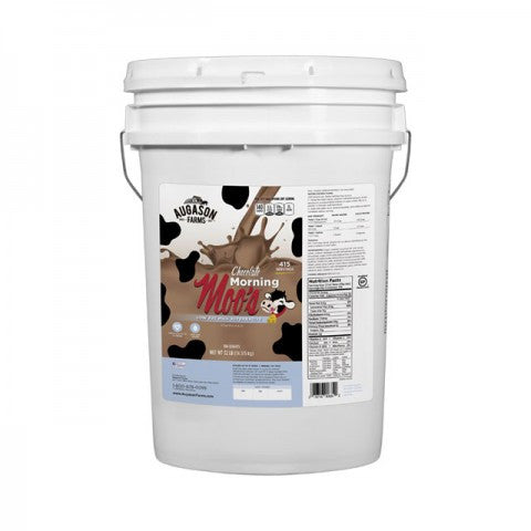 Eggs & Dairy 32 LB Pail Chocolate Morning Moo's Low Fat Milk Alternative