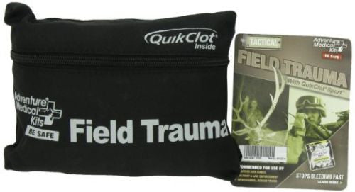 .Adventure Medical Tactical Field Trauma Med Kit w / Quick Clot