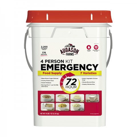 Augason 72 Hour 4-Person - 12 Day 1 Person Emergency Food Supply Kit