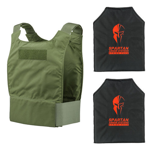- Spartan Level IIIA Flex Fused Core™ Soft Body Armor and Spartan BCS Extreme Concealment Carrier