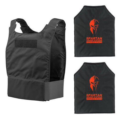 - Spartan Level IIIA Flex Fused Core™ IIIA Soft Body Armor and Spartan BCS Extreme Concealment Carrier
