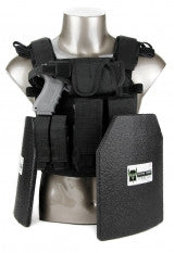 .AR500 Armor® Sentry Plate Carrier Package with Level III Body Armor and Pouches
