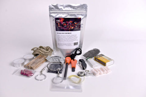 B.O.S.S. Fire- Bug Out Survival Supplement Kit