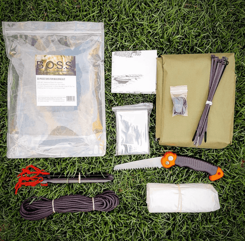 B.O.S.S. Shelter - Bug Out Survival Supplement Kit
