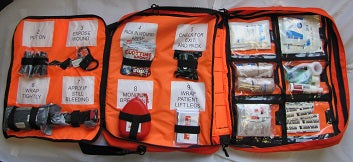 .First Aid Emergency Range Ops Med Kit