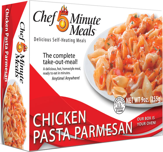 Chef 5 Minute Meal Chicken Pasta Parmesan - Case