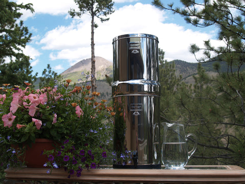 .Crown Berkey Water Filter - True Off the Grid Water Purifier - 6 Gal