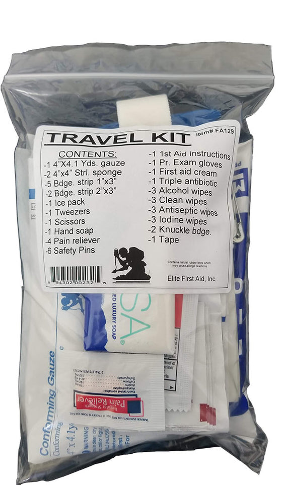 .First Aid Travel Kit