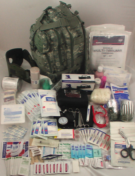 .First Aid Elite Tactical Trauma Kit #3  FA138