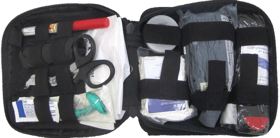 .First Aid Elite Enhanced IFAK Kit Level 2  FA201
