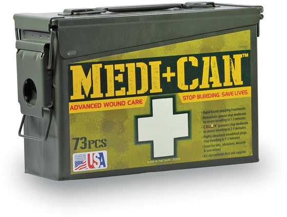 .Medic -Can First Aid Kit - Wound Care RMR Upgrade 138 piece