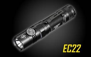 .NITECORE EC22 1000 Lumen Infinite Brightness LED Flashlight