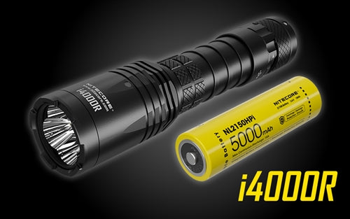 .Nitecore i4000 4400 Lumen USB Rechargable Flashlite