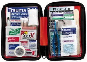 .Med Kit Small Outdoor Softsided Case - 114 Piece