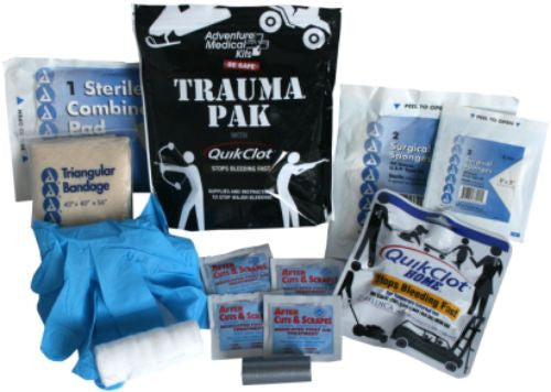.Adventure Medical  First Aid Trauma Pak with Quick Clot
