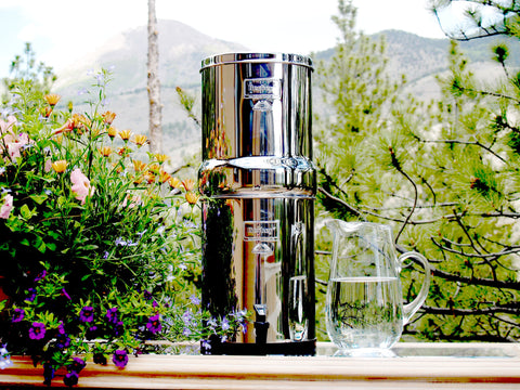 .Royal Berkey Water Filter - True Off the Grid Water Purifier - 3.25 gal