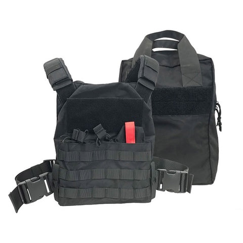 -Spartan AR550 Body Armor and SBT Defender Active Shooter Package