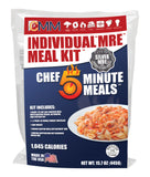 "Silver Individual ""MRE"" Meal Kit"