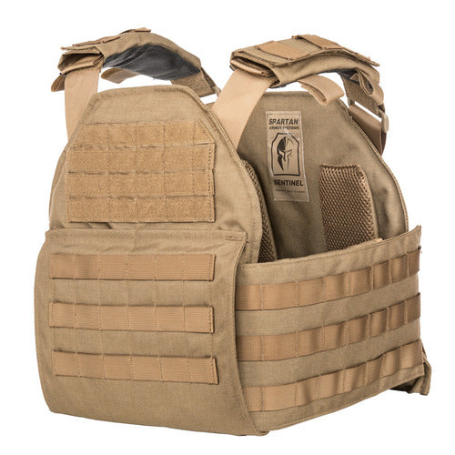 - Spartan AR550 10 x 12 Plates and Sentinel Carrier Package
